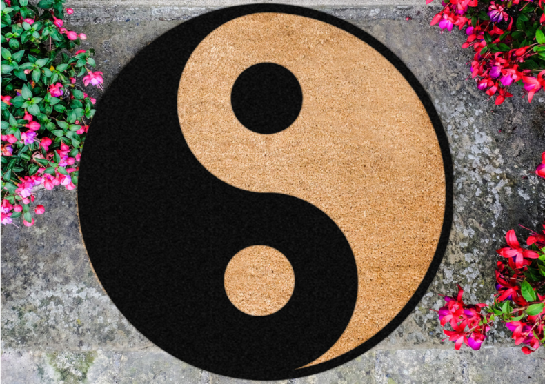 Covoras Yin Yang -- Opusurile sunt inseparabile image