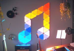 Nanoleaf Aurora Rhythm -- Viitorul e luminos