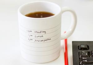 Cana cu notite -- O cafea buna si o lingurita de 'to do list'