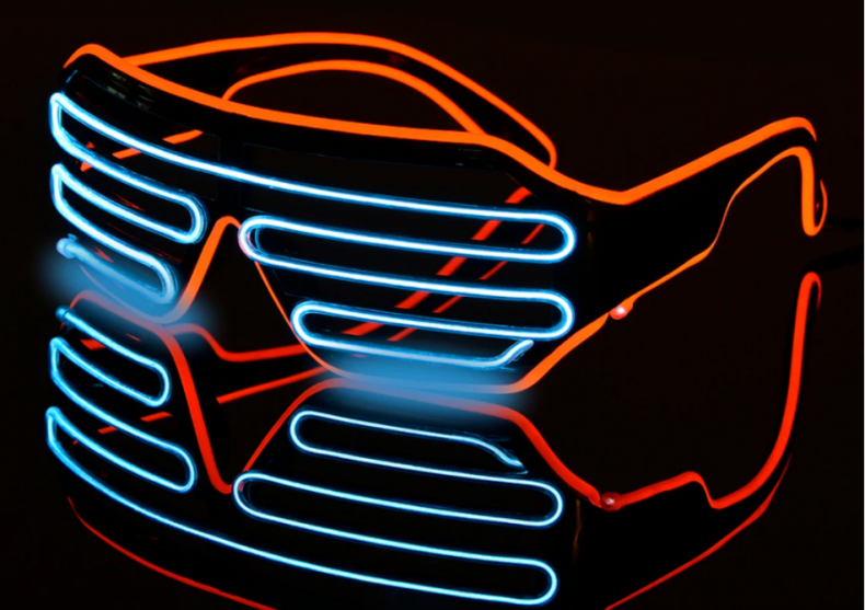 Ochelari neon -- Funky party image