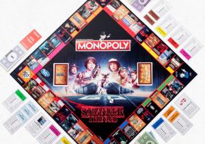 Stranger Things Monopoly -- Un joc rasturnat