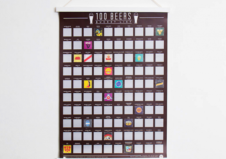Tablou razuibil 100 beri -- Pentru (viitorul) expert in beri! image