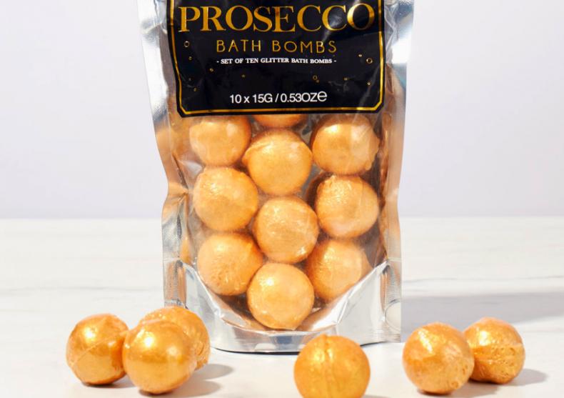 Prosecco Bath Bombs -- Scalda-te in LUX! image