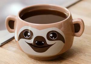 Sloth mug -- O scuza pentru lenevit