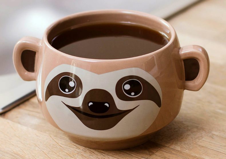 Sloth mug -- O scuza pentru lenevit image