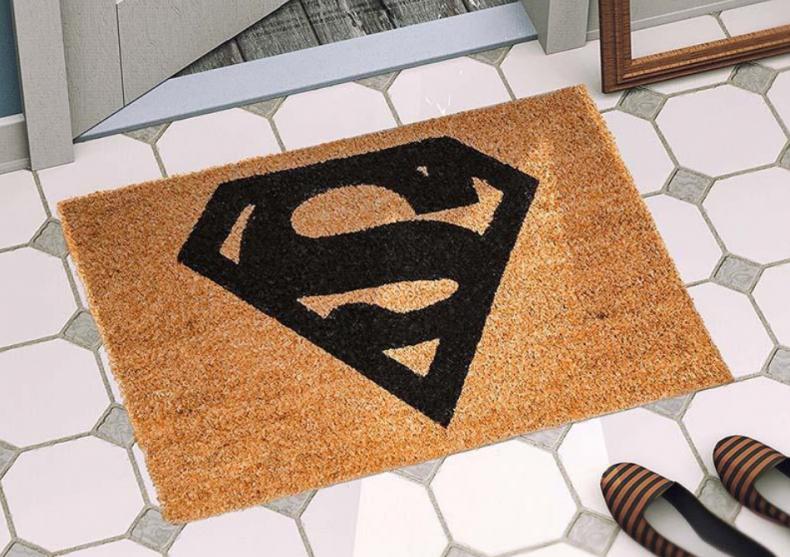 Covoras Superman -- Super covor de supererou image
