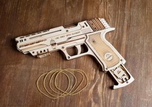 Pistol Wolf -- Cu gloante de cauciuc