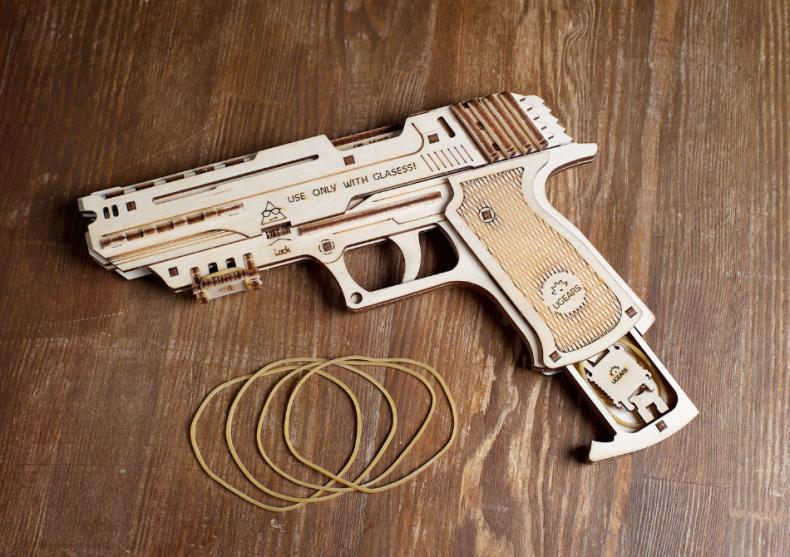 Pistol Wolf -- Cu gloante de cauciuc image