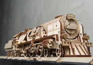 Tren express cu abur -- Revolutia industriala