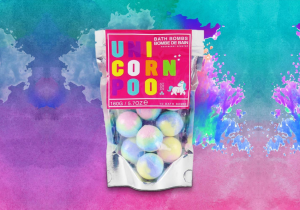 Unicorn Poo Bath Bombs -- Colorate si efervescente