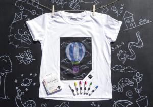 Chalkboard kids -- arta in inima tricoului