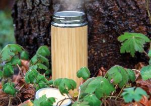 Sticla  Bamboo -- Nici un picur nu scapa