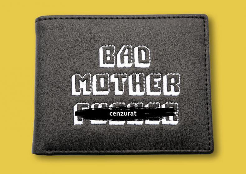 Portofel Bad Mother F*cker Negru -- returneaza-mi-l acum image
