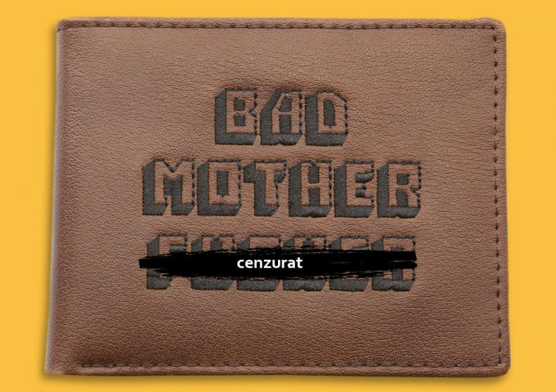 Portofel Bad Mother F*cker Maro-- Gaseste-mi portofelul... image