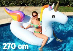 Unicorn plutitor -- Incaleca inorogul de apa!