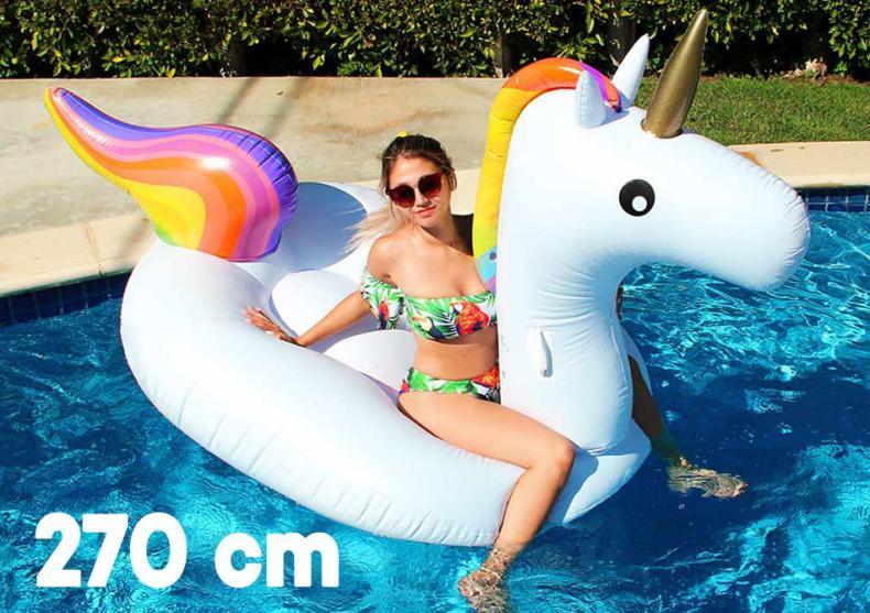 Unicorn plutitor -- Incaleca inorogul de apa! image
