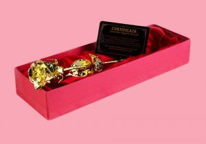 Trandafir 24K rosu-- Alintare pentru cei dragi