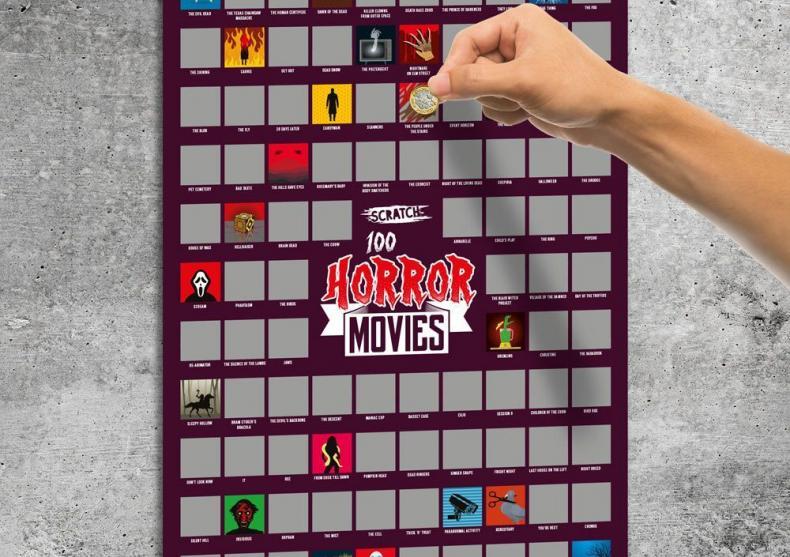 Tablou razuibil 100 filme Horror -- Uh, spooky! image