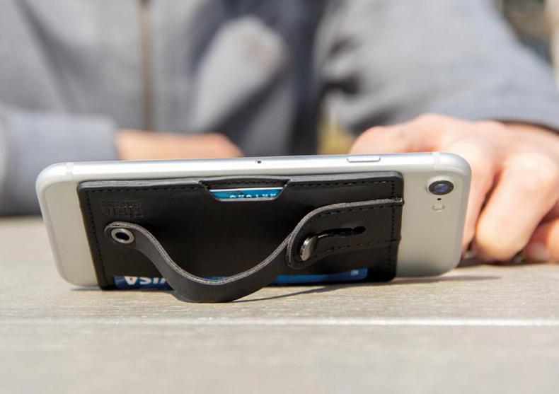 Phone cardholder 3-in-1 -- protejat RFID image