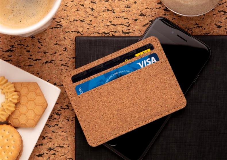 Cardholder slim Cork -- suport eco image