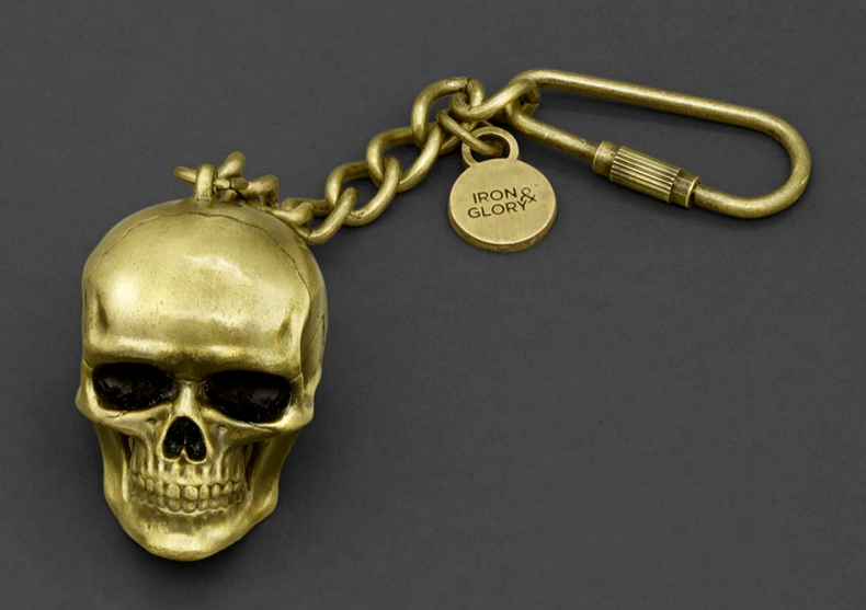 Dead ringer -- breloc skull head image