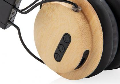 Casti wireless Bamboo --  o pereche Eco