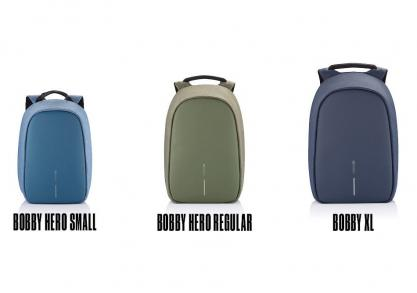 Bobby Hero small — rucsac anti-furt