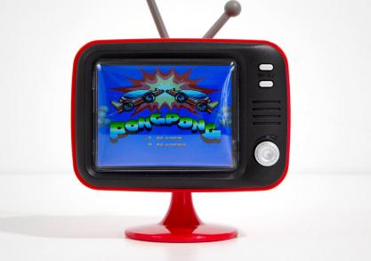 ORB Tv — consola retro mini TV