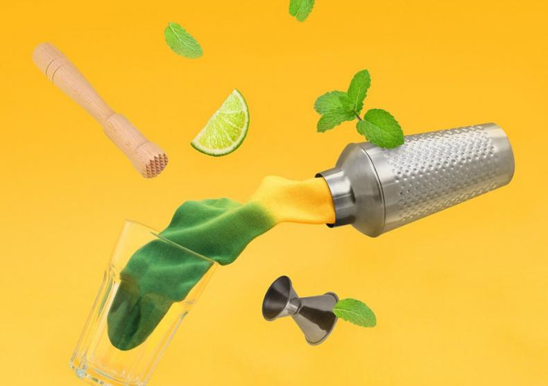 Sosete Cocktail -- explozie de culori la doza image