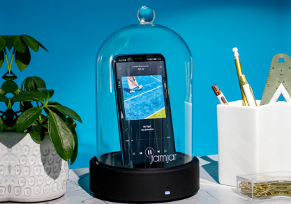 Boxa Bluetooth Jam Jar -- borcanul inteligent