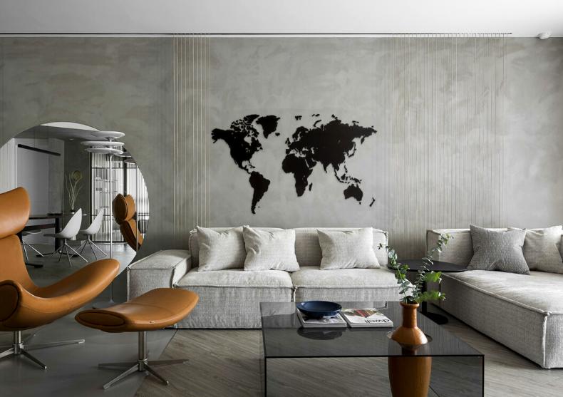 Harta lumii WoodenLife -- din lemn ecologic deluxe image
