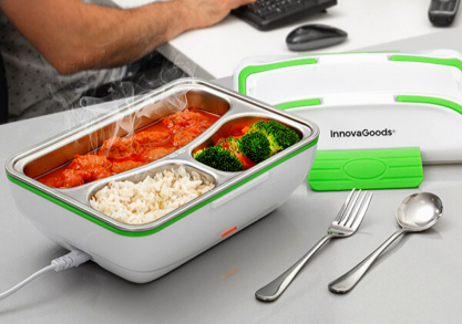 Lunch box Grena electric -- pranzul tau cald portabil