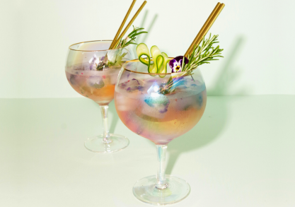 Pahare Rainbow Gin -- must have-ul anului