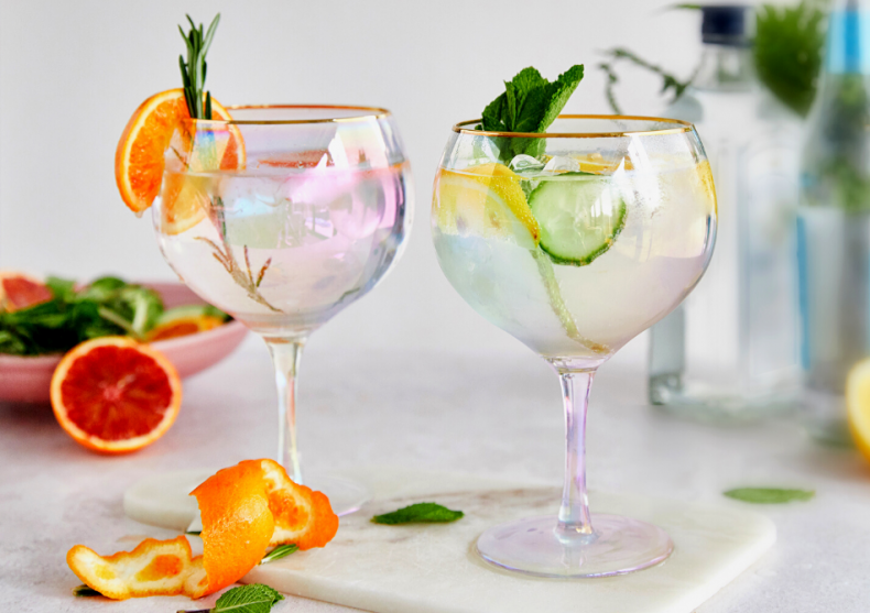 Pahare rainbow Gin -- must have-ul anului image