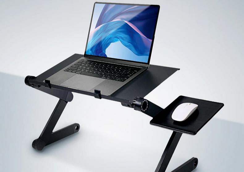 Masuta laptop contorsionista -- cu lux de confort image