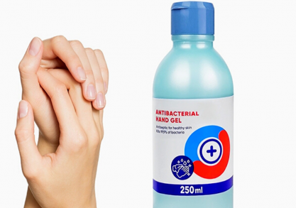 Gel dezinfectant anti-bacterian -- igienizeaza-te