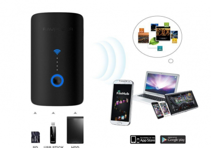 RavPower RP-WD03 router, powerbank & more -- SMART