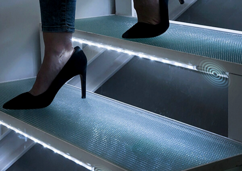 LED Steps 2x -- pasii tai pusi in valoare image