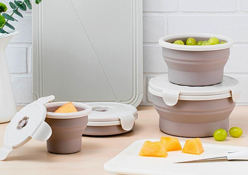 Lunch box pliabil -- caserola pentru pranz image