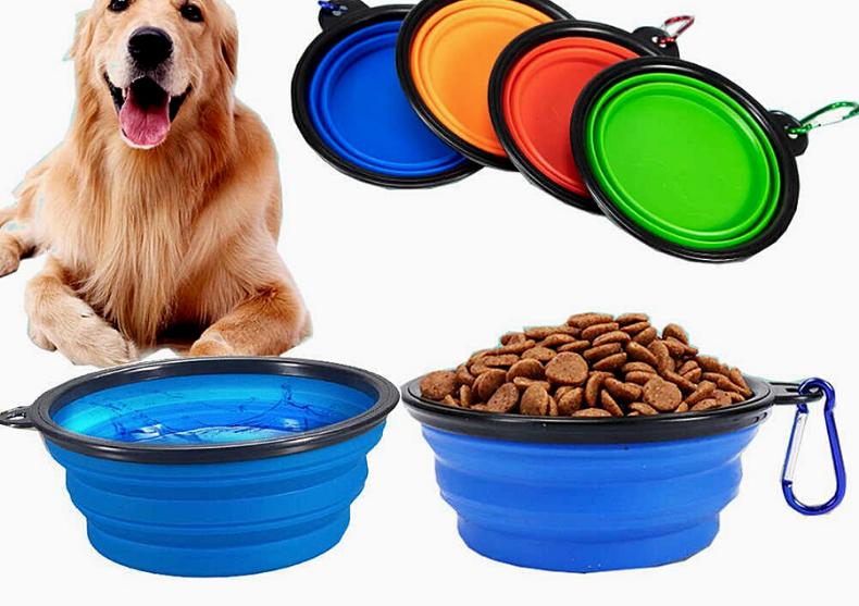 Bol pliabil Pets -- hrana & apa la dispozitie image