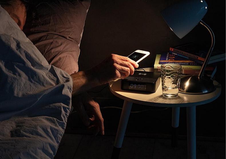 Smart Speaker -- Boxa+alarma+incarcare wireless image