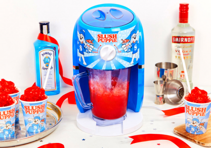 Slush Puppie -- cool retro vibes