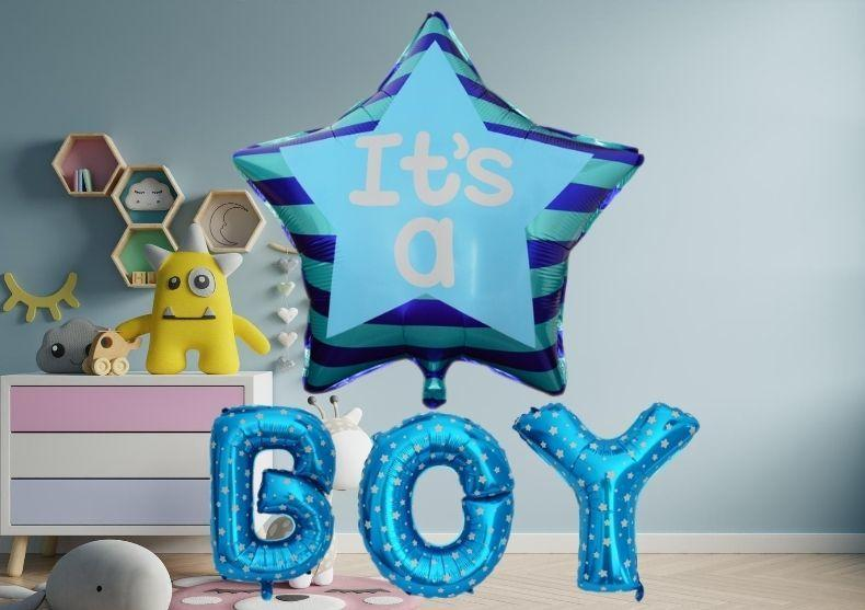 Balon Baby Shower -- baby boy or baby girl? image