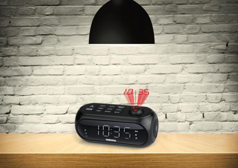 Ceas desteptator Daewoo cu proiectie -- wake up! image