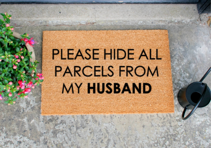 Hide All Parcels From My Husband -- oricum El stie!
