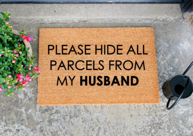 Hide All Parcels From My Husband -- oricum El stie! image