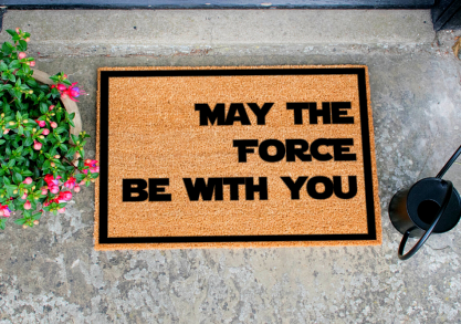May the Force Be with You -- te motiveaza de la intrare