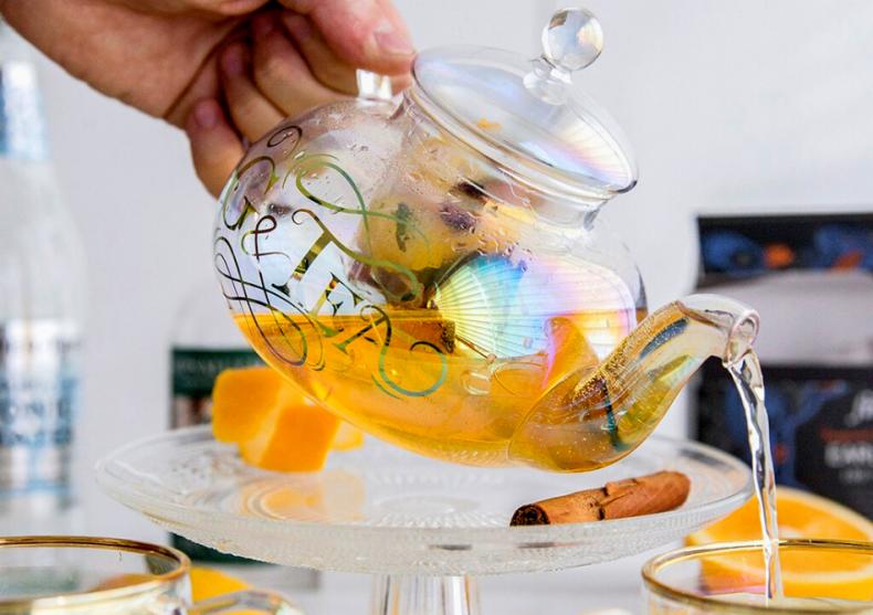 Set rainbow G&Tea -- 800ml de ceai vesel  image