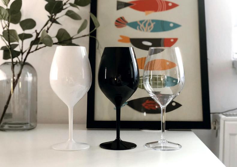 Set pahare vin rosu -- din tritan durabil  image
