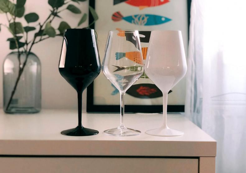 Set pahare vin alb -- din tritan puternic image